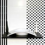 Geometric bathroom — Stock Photo #3251609