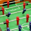 Stock Photo: Tabletop foosball