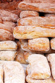 Bunch of bread — Stock Photo