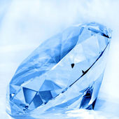 Diamond blue — Stock Photo