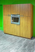 Oven cabinet — 图库照片