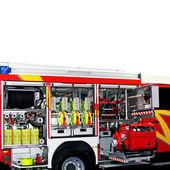 Rescue vehicle angle — Stock Photo