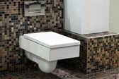 Toilet and tiles 2 — Stock Photo