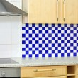 Blue kitchen counter — Stock Photo #3265690