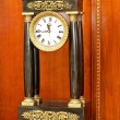 Old roman clock — Stockfoto