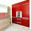Red oven angle — Stock Photo #3266933