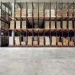 倉庫の棚 — ストック写真