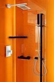 Oranžový sprcha — Stock fotografie