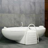 Big bathtub — Stock Photo