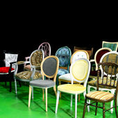 Chairs angle — Stock Photo