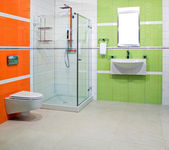Lavabo contemporaneo — Foto Stock