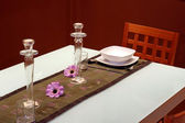 Festive table — ストック写真