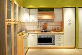 厨房左 — 图库照片