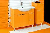 Orange badrum — Stockfoto