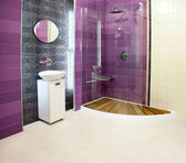 Purple shower — Stock Photo