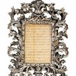 Antique frame - Stock Photo