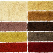 Carpet sampler — Stock Photo