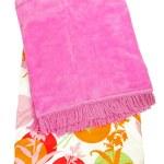 Pink blanket 2 — Stock Photo