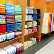 Stock Photo: Towel shop
