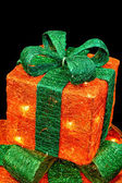 Orange gifts — Stock Photo