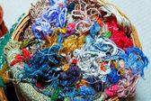 Silk thread — Stock Photo