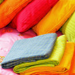 Colorful bedding — Stock Photo #3373676