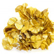 Gold leafs — Stock Photo