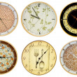 Stock Photo: Wall clocks 3