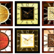 Wall clocks 4 — Stock Photo