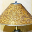 Metal lampshade — Stock Photo
