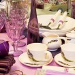 Stock Photo: Purple kitchenware