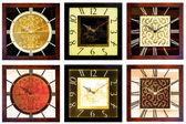Duvar saatleri 4 — Stok fotoğraf