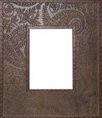 Frame engraved — Stock Photo