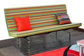 Straps sofa angle — Stock Photo