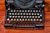 Klawiatura do pisania — Zdjęcie stockowe