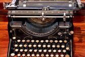 Typewriter old — Stock Photo