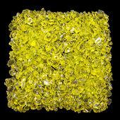 Yellow stones — Stock Photo