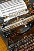 打字机 — 图库照片