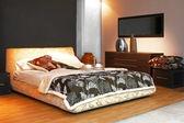 Ângulo de cama — Fotografia Stock