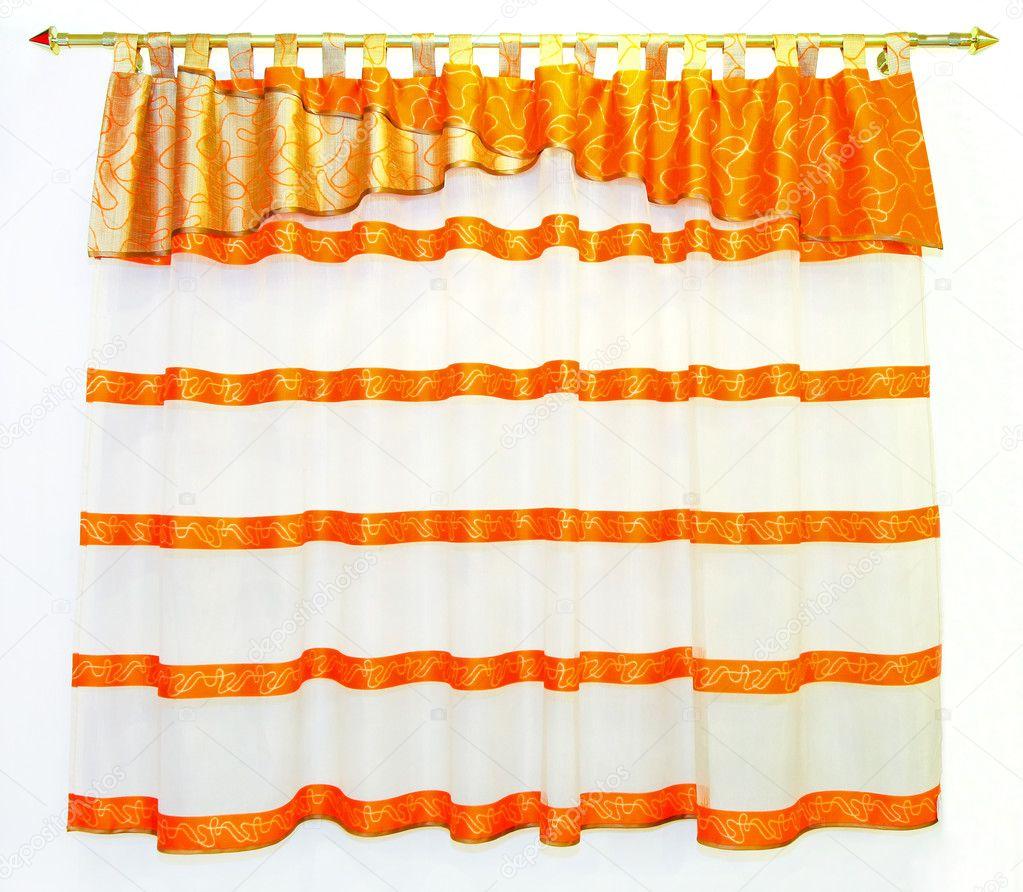 Pin jpeg orange curtains drapes window panles damask on pinterest
