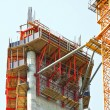 Stock Photo: Construction scaffolds