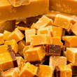 Caramel fudge — Stock Photo