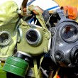 Gas masks - Stock Photo