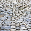 Cobble road — Stock Photo