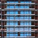 Construction scaffolds — Stock Photo