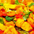 Sweet and sour chicken - Foto Stock