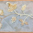 Stock Photo: Foliage needlework
