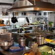 Restaurant kitchen — Stockfoto #3467235