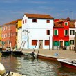Burano landscape — Stock Photo