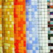 Color tiles — Stock Photo